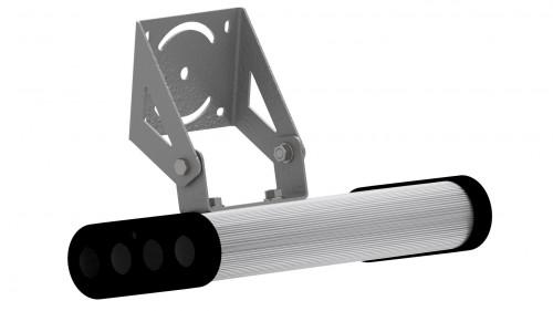 Крепление на один модуль, поворотное угловое (на стену и потолок)